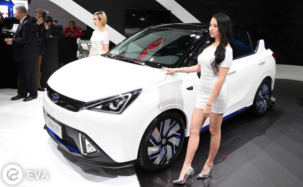 GE3 — китайский электрический кроссовер от GAC Motors