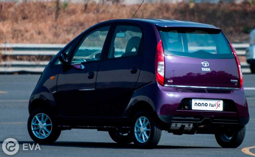 бюджетный индийский электромобиль Tata Nano
