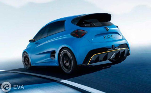 Самый продаваемый электромобиль в Европе — Renault Zoe