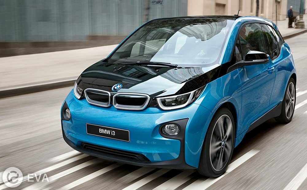 Второе место — BMW i3
