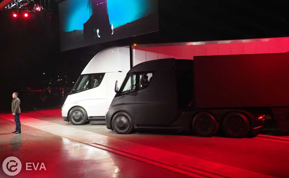 Tesla Semi первая популярность