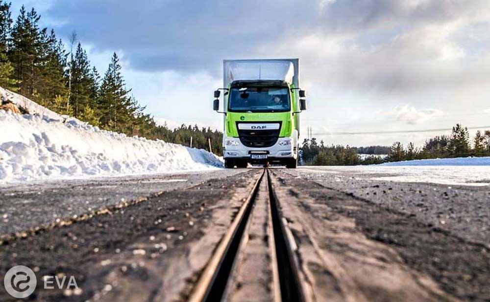 В Швеции проложили дорогу, заряжающую электромобили на ходу