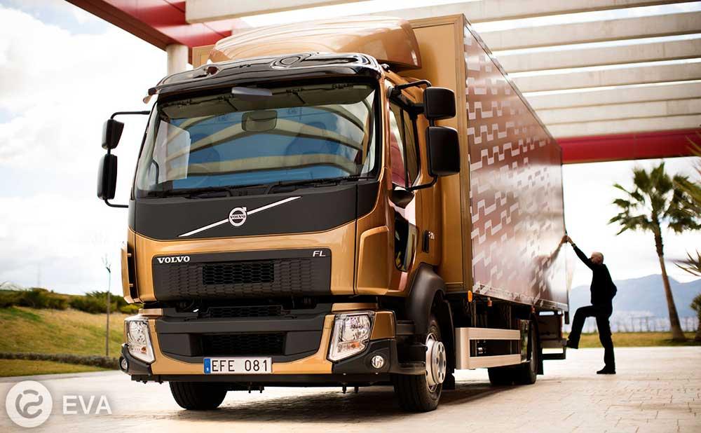 Volvo выпустили полностью электрический грузовик